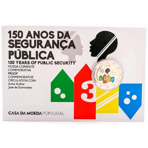 Portugal  2,00€ 2017 150 Anos da PSP Proof