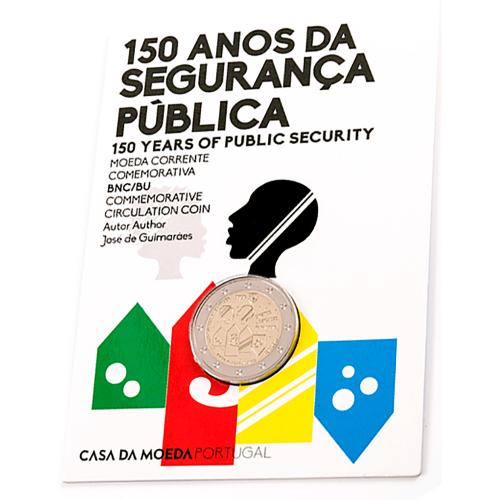 Portugal  2,00€ 2017 150 Anos da PSP Bnc
