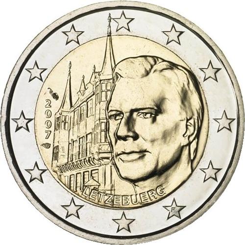 Luxemburgo 2€ 2007 Palácio Ducal