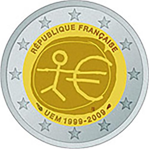 France 2€ 2009  U.E.M.