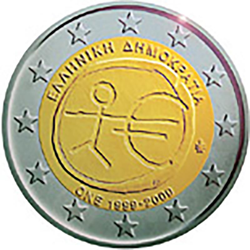 Grécia 2 € 2009 U.E.M.