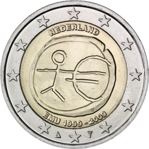 Holanda 2€ 2009 E.M.U.