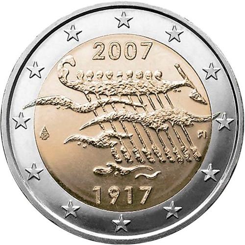 Finlândia 2€ 2007 Independência