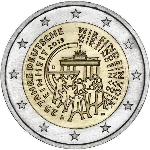 Alemanha 2€ 2015 Unificação