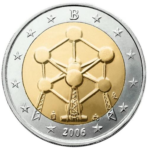 Bélgica 2€ 2006 Átomo
