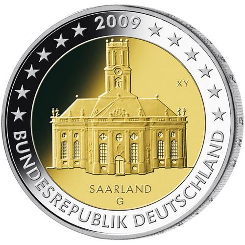 Alemanha 2€ 2009 Saarland