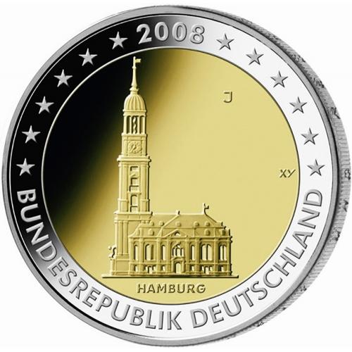Germany 2€ 2008 St. Michaelis