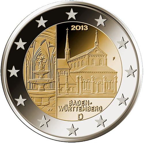 Alemanha 2€ 2013 Baden Wurttemberg