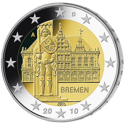 Germany 2€ 2010 Bremen