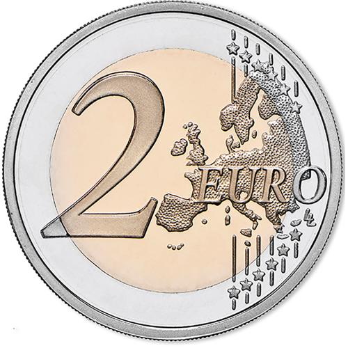 Luxemburgo 2€ 2012 10 Anos do Euro