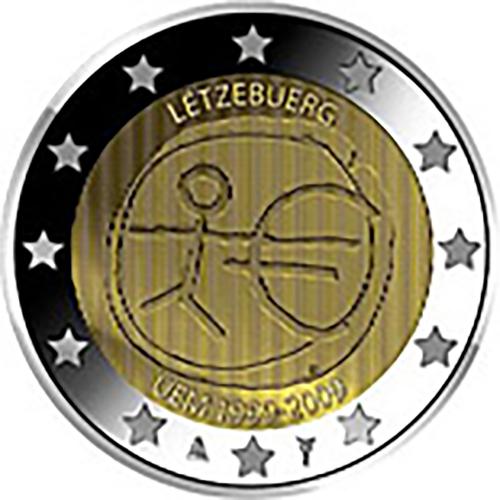 Luxembourg 2€ 2009  U.E.M.
