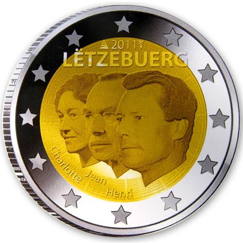 Luxembourg 2€ 2011 Grand-Duc Jean