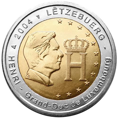 Luxemburgo 2€ 2004 Grand-Duc Henry