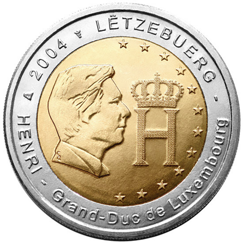 Luxembourg 2€  2004 Grand-Duc Henry