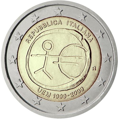 Itália 2€ 2009  UEM