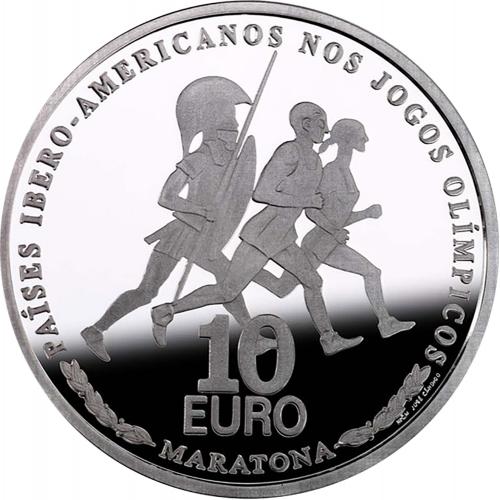 Portugal 10€ 2007 Maratona
