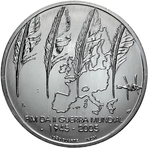 Portugal 8€ Fim II Guerra Mundial 2005