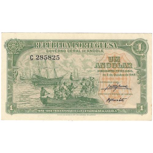 Angola 1 Angolar 1948