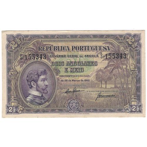 Angola 2,50  Angolares 1942