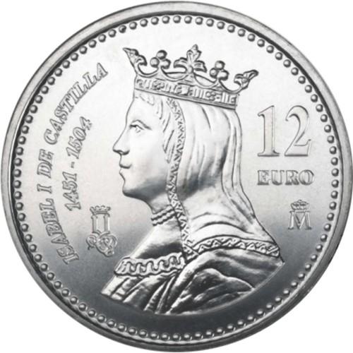 Spain 12€ 2004 Isabella I of Castile