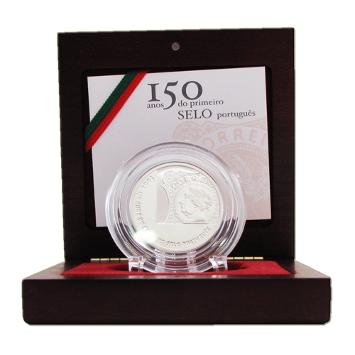 Portugal 5€ 150 Anos do Selo 2003 Proof