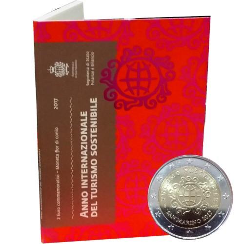San Marino - 2€ 2017 (Inte. Year of Sustainable Tourism)
