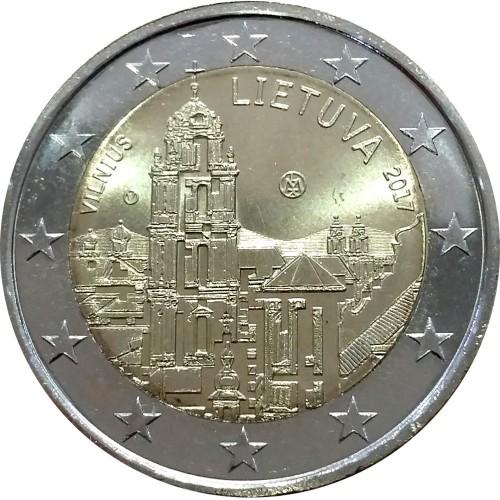 Lituânia 2€ 2017 (Vilnius)