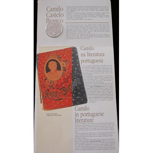 B.N.C.100$00 Camilo Castelo Branco