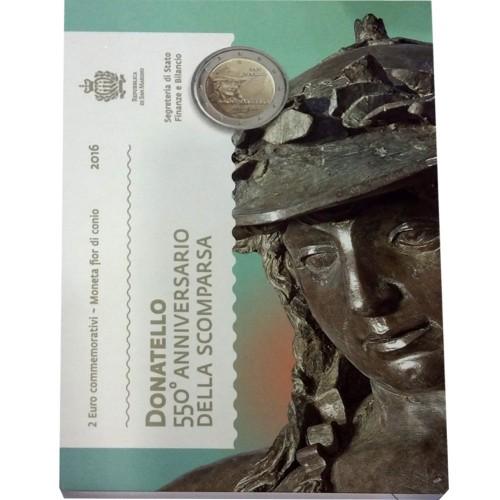 San Marino - 2€ 2016 (Donatello)