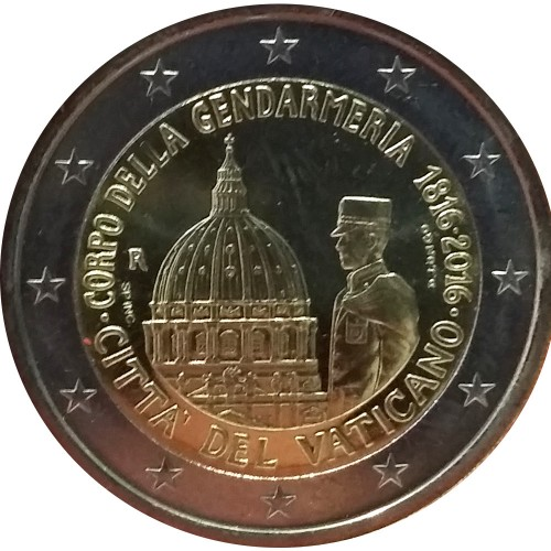 Vatican 2€ 2016 The Holy year of mercy