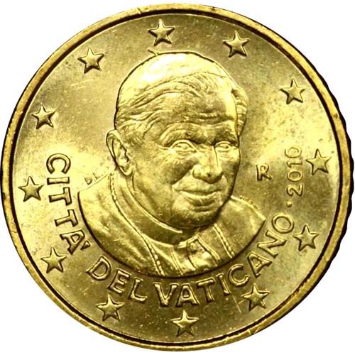 "Vaticano - 50 Cêntimos ""Bento XVI"""