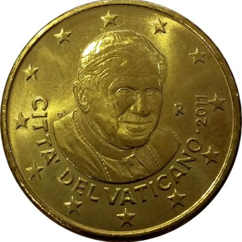 "Vaticano - 50 Cêntimos 2012 ""Bento XVI"""
