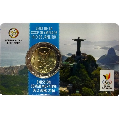 Bélgica 2€ 2016 (Jogos Olímpicos)