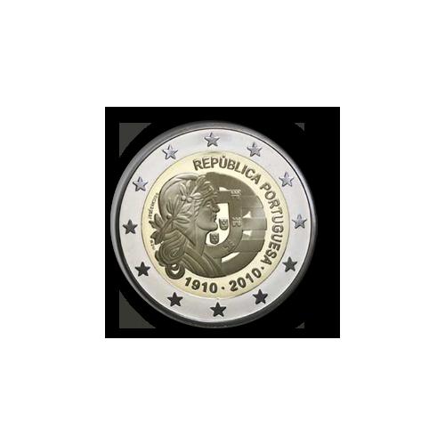 Portugal 2€ Centenário da República 2010