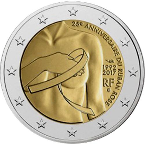 França 2€ 2017 (Luta Conta o Cancro da Mama)