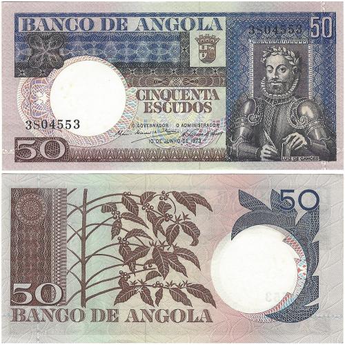 Angola 50$00 1973