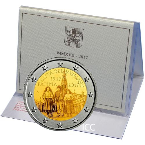 Vaticano 2€ 2017 (100 Anos das Aparições de Fátima)