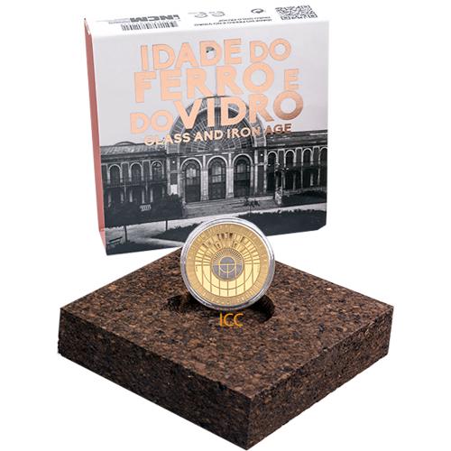 Portugal - 5€ 2017 O Ferro e o Vidro Proof (Ouro)