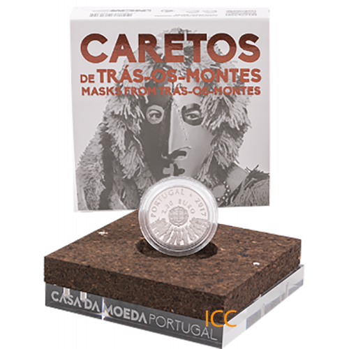 Portugal  - 2,50€  2017 Mask from Trás-os-Montes