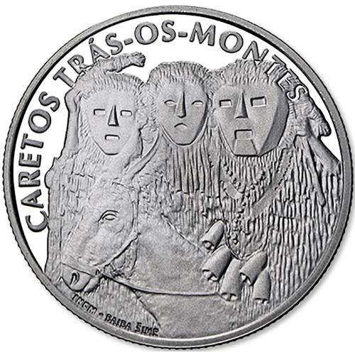 Portugal  - 2,50€  2017 Os Caretos