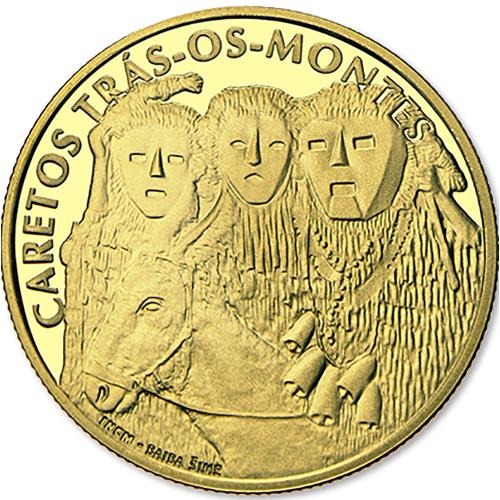 Portugal - 2,50€ 2017 Os Caretos Proof (Ouro)