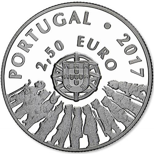 Portugal  - 2.50€  2017 Caretos de Trás-os-Montes