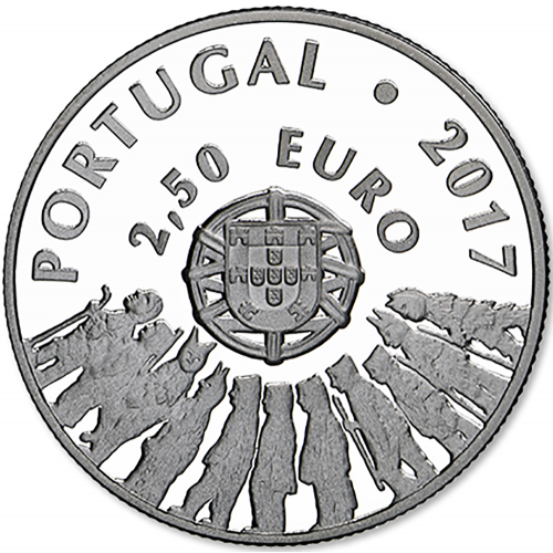 Portugal  - 2.50€  2017 Caretos de Trás-os-Montes