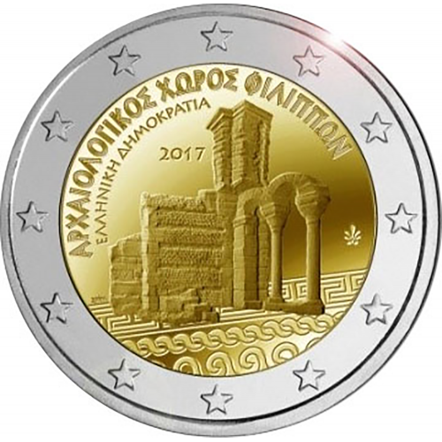 Grécia 2 € 2017 (Philippi)