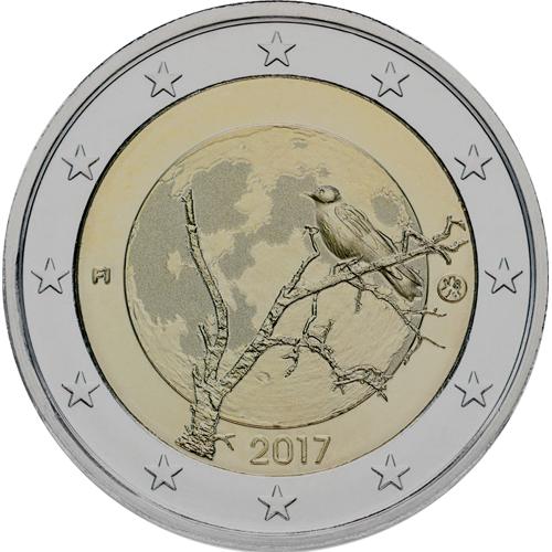 Finlândia 2€ 2017 (A Natureza)