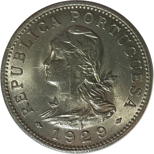 S.Thomas and Prince 50 Centavos 1929