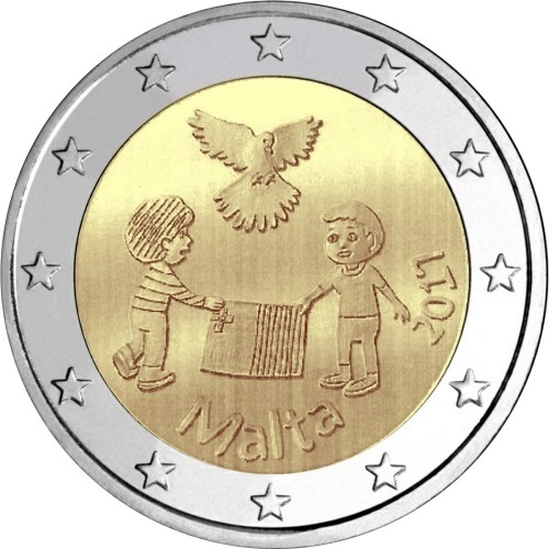 Malta 2€ 2017 (Paz & Solidariedade)