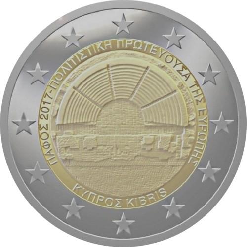 Chipre 2,00€ 2017 (Paphos C. E. da Cultura)