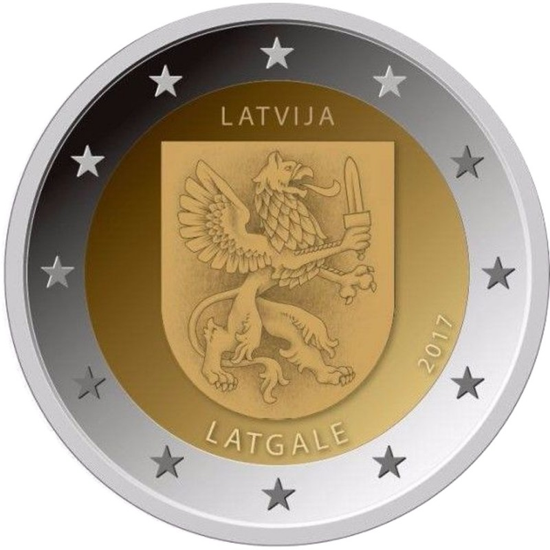 Latvia 2€ 2016  (Vidzeme)