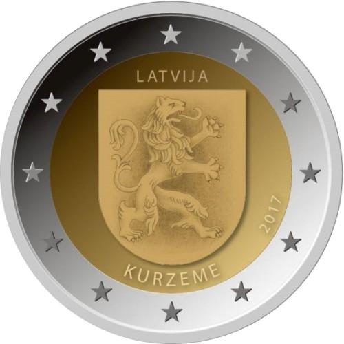 Letónia 2€ 2017  (Kurzeme)